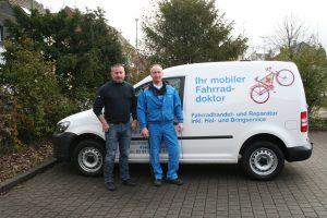 Mobiler Fahrraddoktoktor