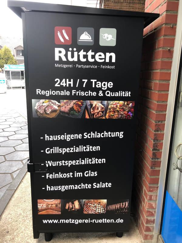 Grillen - Automat der Metzgerei Ruetten - Seite