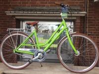 City Bike – grün