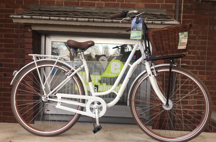 City Bike – weiß